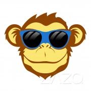 Crazy Monkey ízű e-liquid (Zazo 10ml)