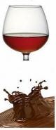Konyakos csoki ízű e-liquid